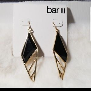 BAR III DANGLE EARRINGS